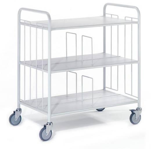 Bürowagen Stahl pulverbeschichtet Traglast (max.): 150 kg ROLLCART AUG 98
