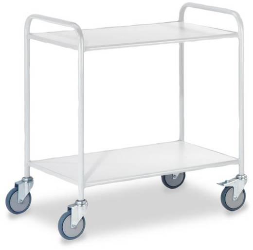 Bürowagen Stahl pulverbeschichtet Traglast (max.): 150 kg ROLLCART AUG 55