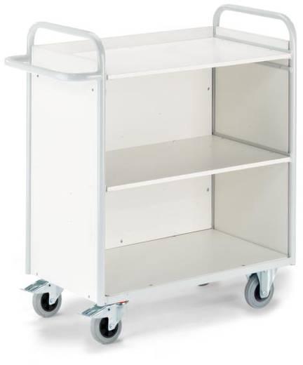 Bürowagen Stahl pulverbeschichtet Traglast (max.): 150 kg ROLLCART B08-7331