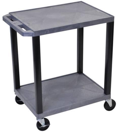 Kunststoffwagen Polyethylen Traglast (max.): 150 kg Grau SEWT33GY-B