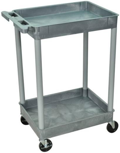 Kunststoffwagen Polyethylen Traglast (max.): 150 kg Grau SESTC11-G