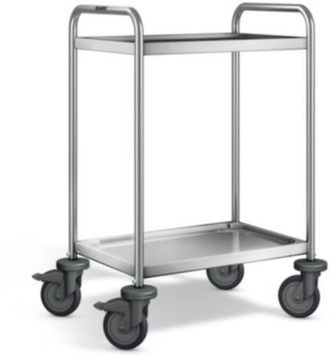 Etagenwagen Edelstahl Traglast (max.): 120 kg Edelstahl 569767