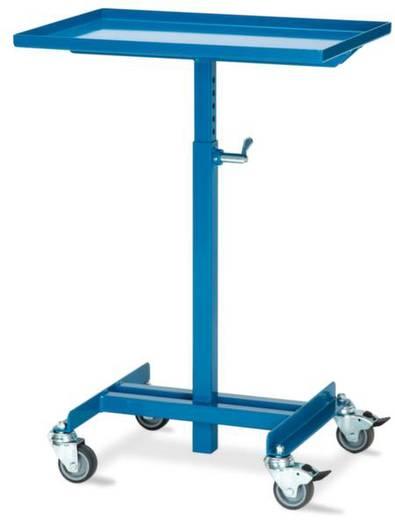 Materialständer Stahl pulverbeschichtet Traglast (max.): 150 kg Verkehrsblau (RAL 5017) RapidLift 16/1600100