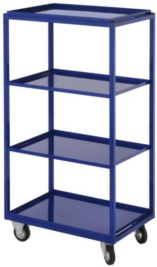 Kommissionierwagen Stahl pulverbeschichtet Traglast (max.): 200 kg Enzianblau (RAL 5010) Kappes 7706.00.0121