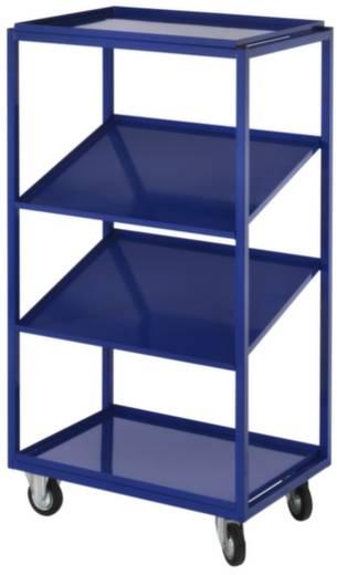 Kommissionierwagen Stahl pulverbeschichtet Traglast (max.): 200 kg Enzianblau (RAL 5010) Kappes 7707.00.0221