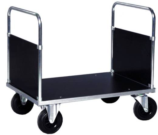 Doppelstirnwandwagen Stahl verzinkt Traglast (max.): 500 kg ROLLCART 02-6048VZ