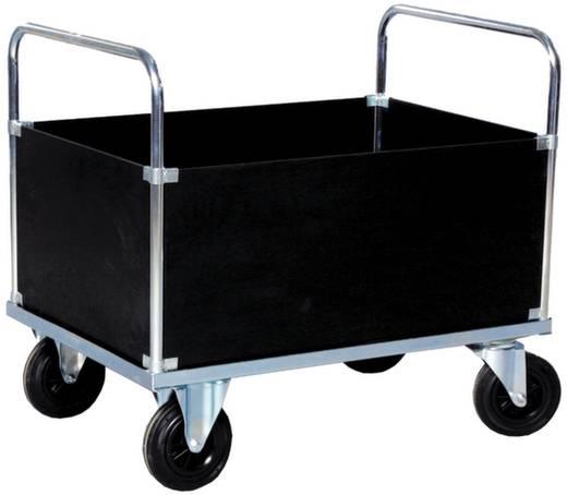 Vierwandwagen Stahl verzinkt Traglast (max.): 500 kg 02-6108VZ