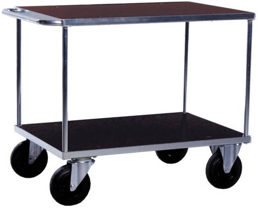 06-7527VZ Tischwagen Stahl galvanisch verzinkt Traglast (max.): 500 kg Verzinkt