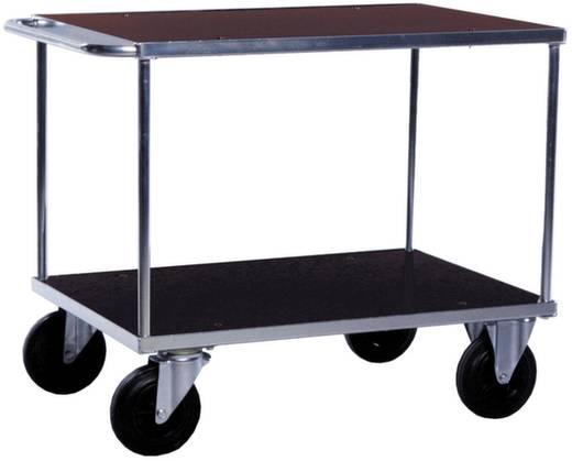 Tischwagen Stahl galvanisch verzinkt Traglast (max.): 500 kg Verzinkt 06-7528VZ