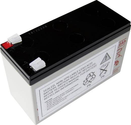 USV-Anlagen-Akku Conrad energy ersetzt Original-Akku AEG A 700 Passend für Modell Protect A 700