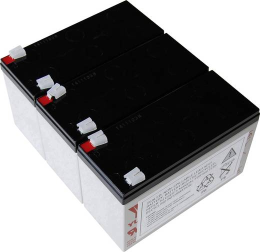 USV-Anlagen-Akku Conrad energy ersetzt Original-Akku AEG C 1000 Passend für Protect C 1000
