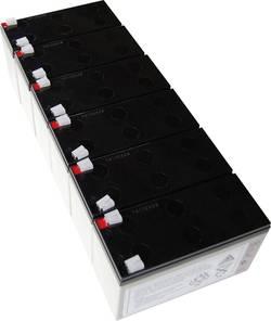 Náhradní akumulátor pro záložní zdroje (UPS) Conrad energy, vhodný pro Protect C 1000 R BP