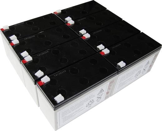 USV-Anlagen-Akku Conrad energy ersetzt Original-Akku AEG C 2000 Passend für Protect C 2000