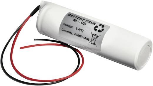 Notleuchten-Akku Kabel 2.4 V 4000 mAh Emmerich 24D4000S