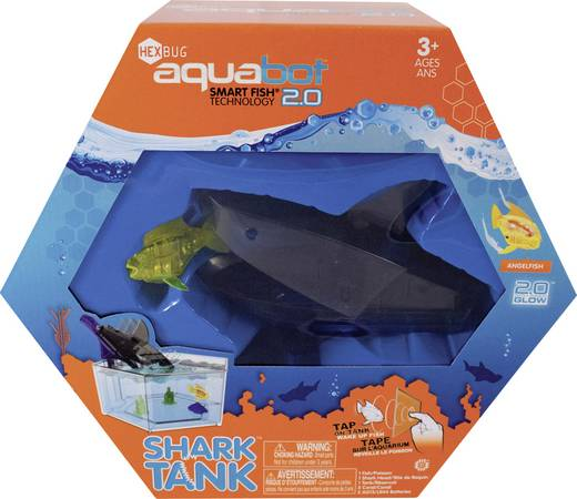 Spielzeug Roboter HexBug Aquabot 2.0 Hai Becken 460-3358