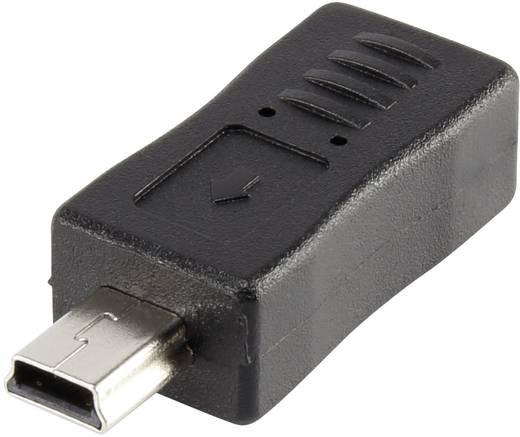 Renkforce USB 2.0 Adapter [1x USB 2.0 Stecker Mini-B - 1x USB 2.0 Buchse Micro-B] rf-usba-08 vergoldete Steckkontakte