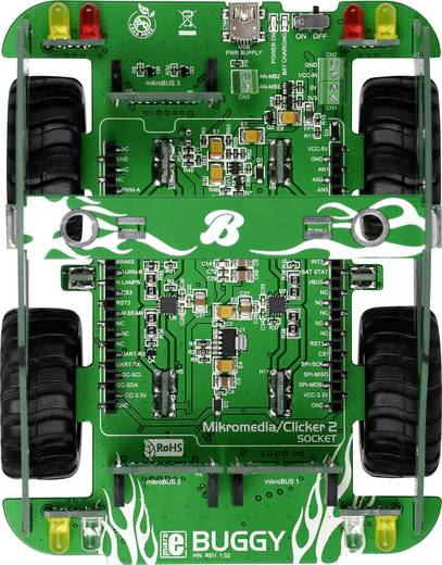 Entwicklungsboard MikroElektronika MIKROE-1670