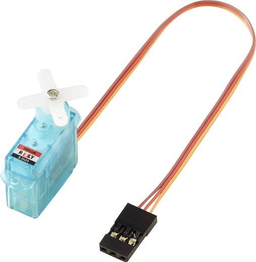 Reely Micro-Servo S-0403 Analog-Servo Getriebe-Material: Kunststoff Stecksystem: JR