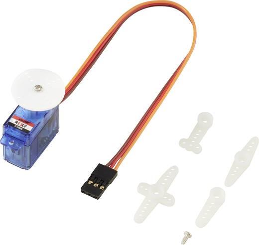 Reely Mini-Servo S-0008 Analog-Servo Getriebe-Material: Kunststoff Stecksystem: JR