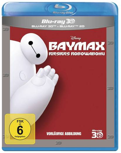 blu-ray Baymax 3D FSK: 6