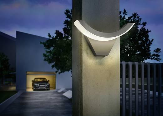 LED-Außenwandleuchte 9 W Warm-Weiß Esotec SwingLine 201140 Anthrazit