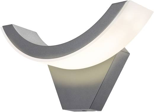Esotec SwingLine 201140 LED-Außenwandleuchte 9 W Warm-Weiß Anthrazit