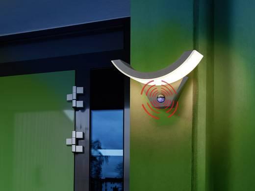 Esotec SwingLine 201142 LED-Außenwandleuchte mit Bewegungsmelder 9 W Warm-Weiß Anthrazit