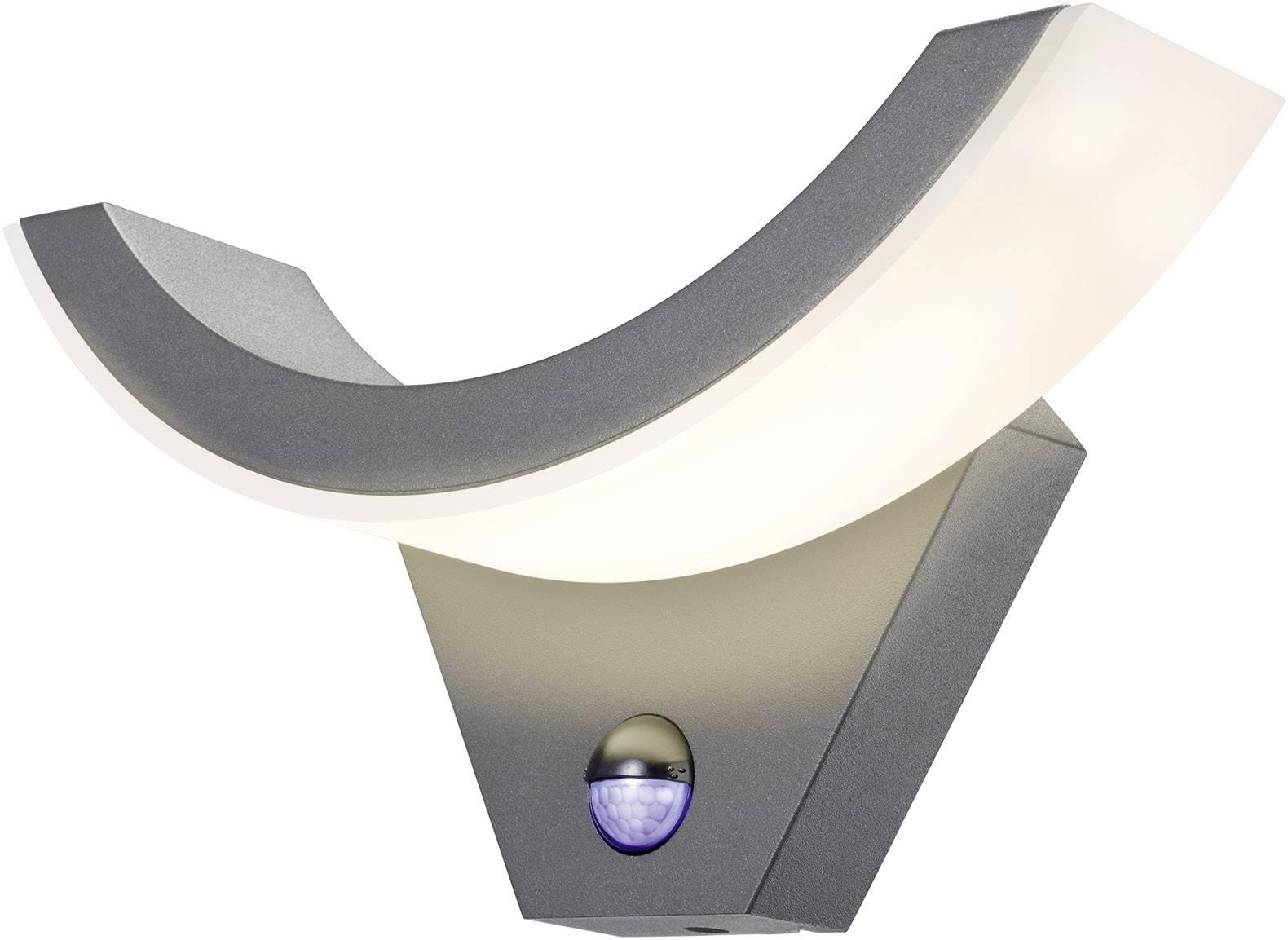 Wundervoll LED-Außenwandleuchte mit Bewegungsmelder 9 W Warm-Weiß Esotec  IL76