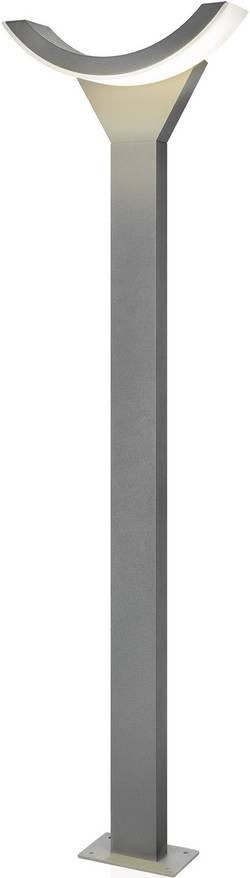 Lampadaire LED extérieur Esotec SwingLine 9 W gris 100 cm