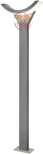 LED-Außenstandleuchte mit Bewegungsmelder 9 W Warm-Weiß Esotec 201146 SwingLine Grau