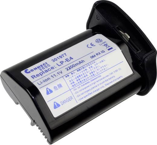 Kamera-Akku Connect 3000 ersetzt Original-Akku LP-E4 11.1 V 2100 mAh 301977