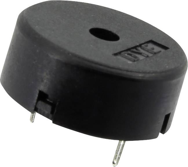 E-shop Piezo bzučák 1365791, 30 V, 90 dB, 1 ks