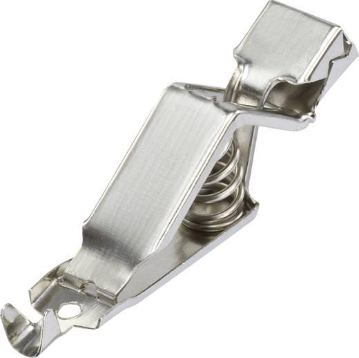 Batterieklemme Silber Klemmbereich max.: 10.1 mm Länge: 51.5 mm Conrad Components 1-74-1 1 St.