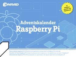 Image of Adventskalender Conrad Components Raspberry Pi 2015 Experimente ab 14 Jahre