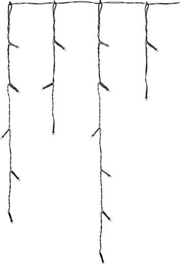 Polarlite Lichtervorhang-Eiszapfen Außen 31 V 72 LED Warm-Weiß, Kalt-Weiß (B x H) 300 cm x 55 cm