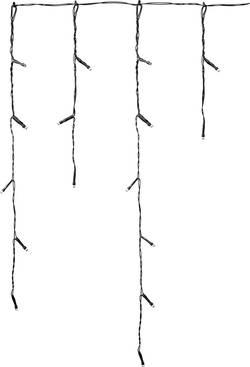 Venkovní LED rampouchy Polarlite PCU-01-001, 72 LED, 3x0,55 m, 230V, teplá/studená bílá