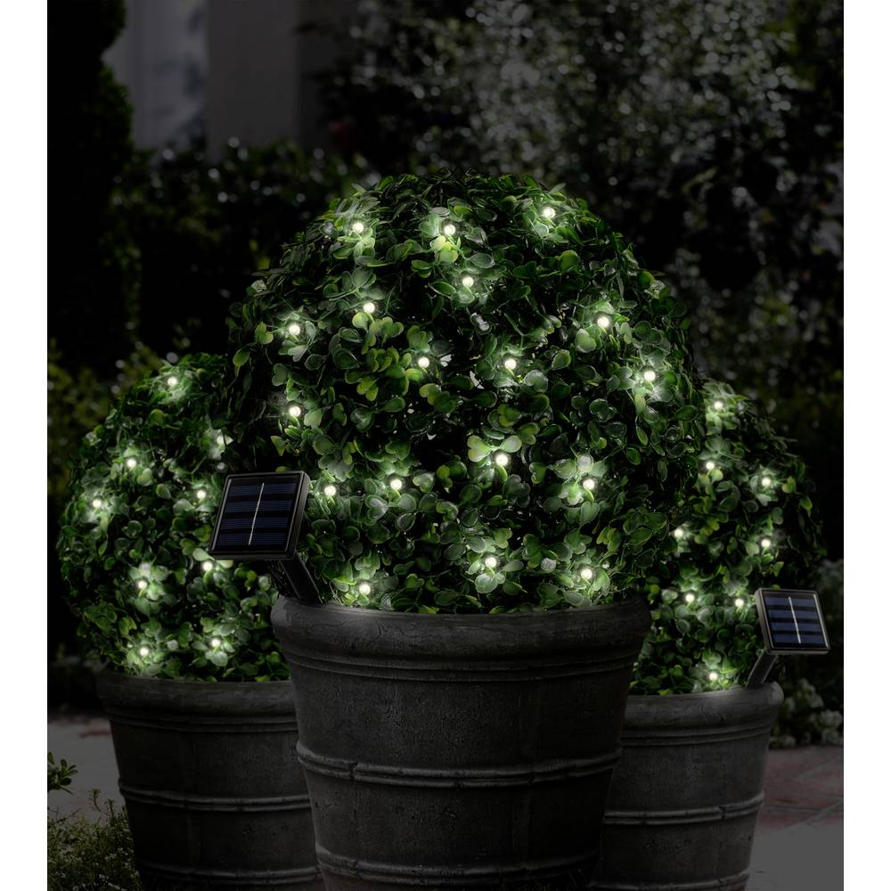 Solar party lights outside rechargeable 100 led warm white solar party lights outside rechargeable 100 led warm white illuminated length 99 m polarlite psl 03 003 mozeypictures Image collections