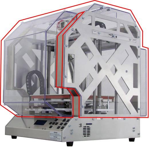 einhausung aus polycarbonat f r 3d drucker renkforce rf1000. Black Bedroom Furniture Sets. Home Design Ideas