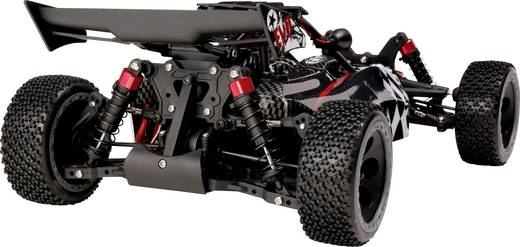 Reely Carbon Fighter EVO Brushless 1:10 RC Modellauto Elektro Buggy Allradantrieb RtR 2,4 GHz
