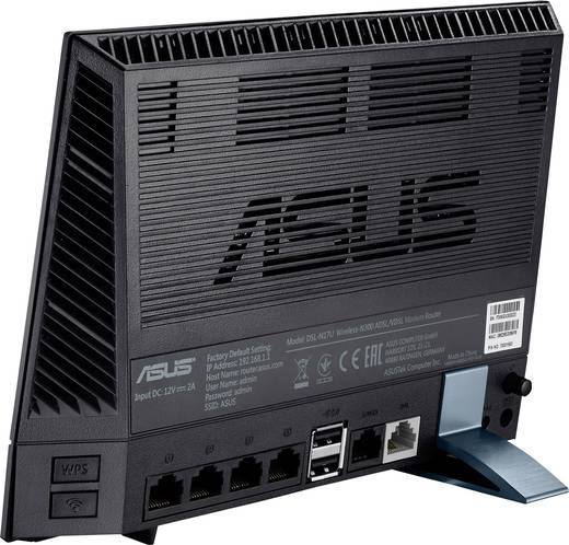 asus dsl n17u wlan router mit modem integriertes modem adsl2 adsl vdsl 2 4 ghz 300 mbit s kaufen. Black Bedroom Furniture Sets. Home Design Ideas