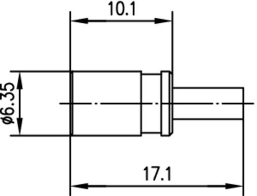 SMB-Steckverbinder Buchse, gerade 50 Ω Telegärtner J01161A0701 1 St.