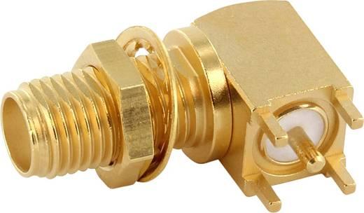 SMA-Steckverbinder Buchse, Einbau horizontal 50 Ω Telegärtner J01151A0821 1 St.