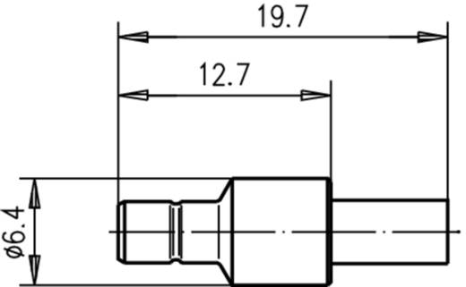 SMB-Steckverbinder Stecker, gerade 50 Ω Telegärtner J01160A0471 1 St.