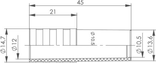 Kabeltülle Telegärtner B00081C0061 Blau 1 St.