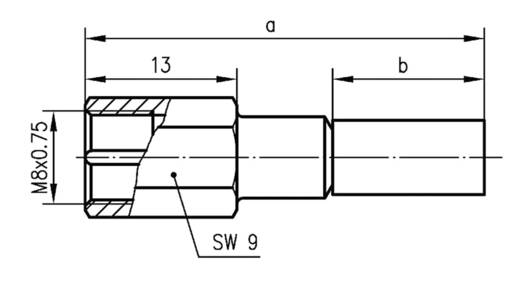 FME-Steckverbinder Stecker, gerade 50 Ω Telegärtner J01700A0010 1 St.