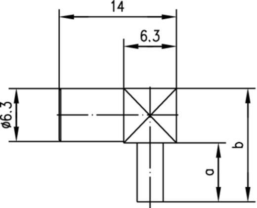 SMB-Steckverbinder Buchse, gewinkelt 50 Ω Telegärtner J01161A0271 1 St.