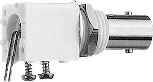 BNC-Steckverbinder Buchse, Einbau horizontal 50 Ω Telegärtner J01001A0037 1 St.