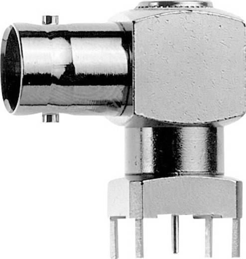 BNC-Steckverbinder Buchse, Einbau horizontal 75 Ω Telegärtner J01003A0018 1 St.