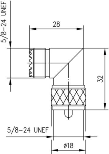 BNC-Adapter UHF-Buchse - UHF-Stecker Telegärtner 1 St.