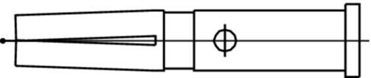 Koaxial-Buchsenkontakt Telegärtner C00011A1406 Silber 1 St.